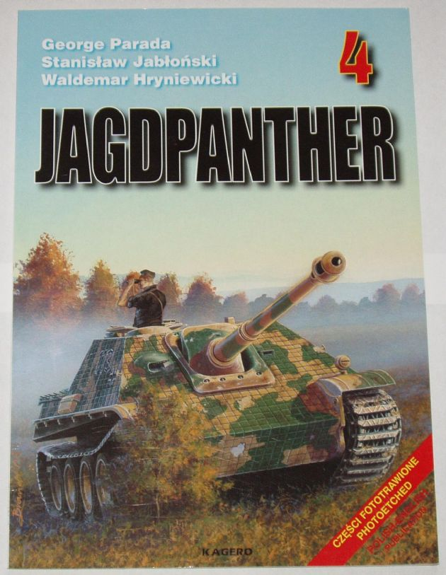Jagdpanther, by G. Parada & Others (Kagero 4)